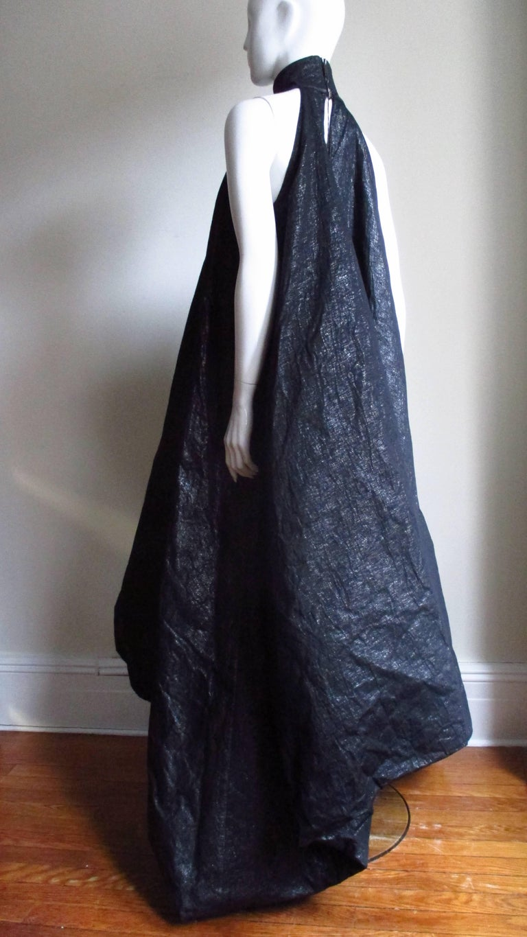 Gareth Pugh New Puff Triangle Maxi Dress For Sale 7