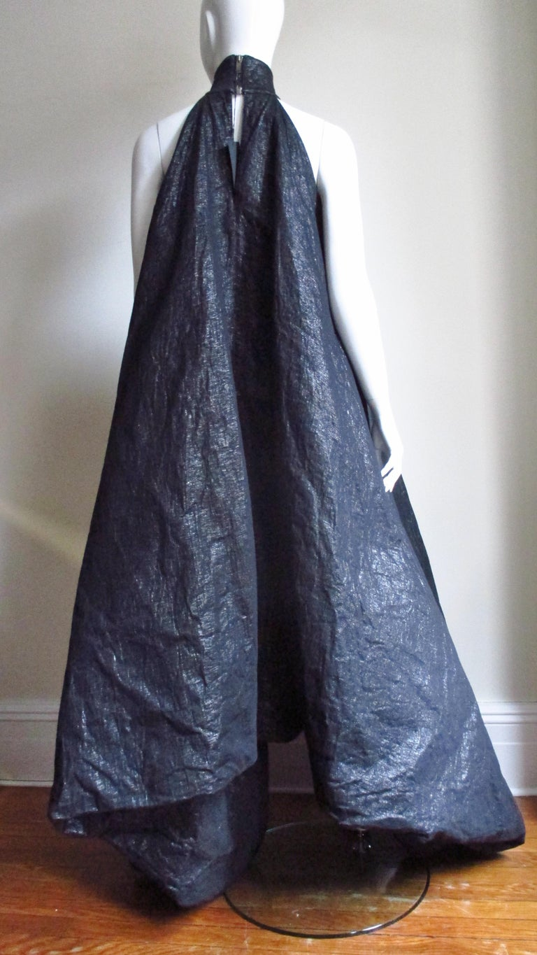 Gareth Pugh New Puff Triangle Maxi Dress For Sale 8
