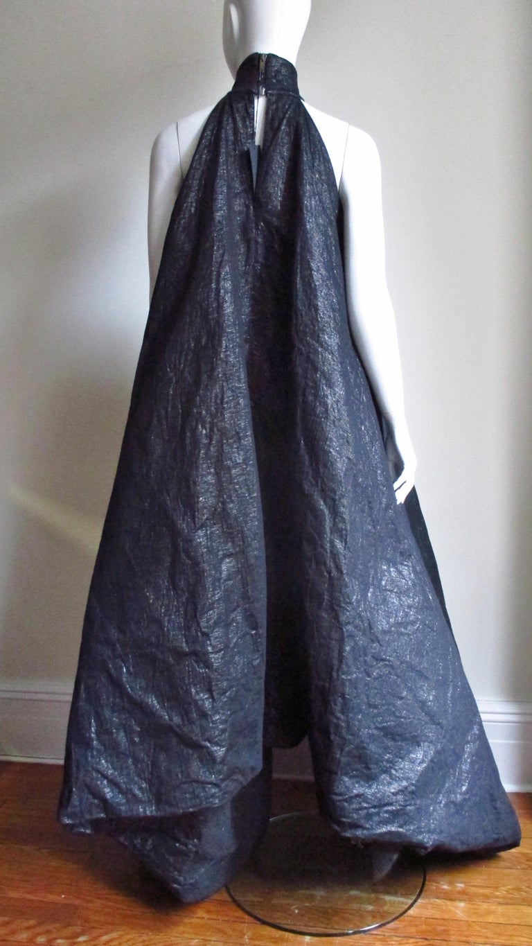 Gareth Pugh New Puff Triangle Maxi Dress For Sale 11
