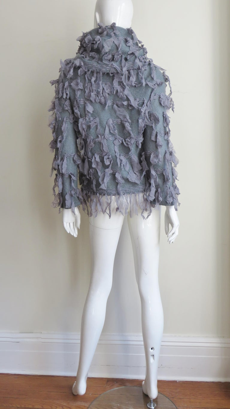 Christian Dior Fringe Sweater For Sale 10