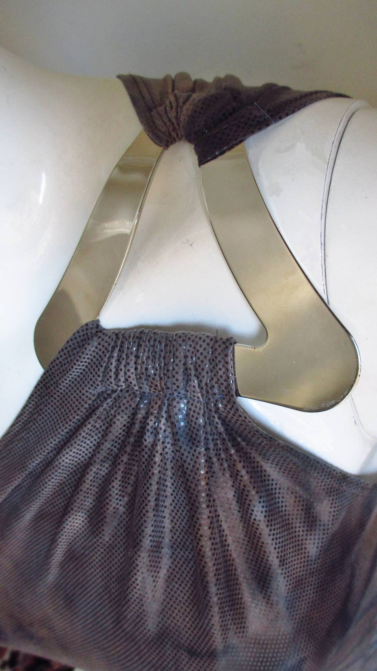 Women's 1990s Gianni Versace Dress with Hardware For Sale