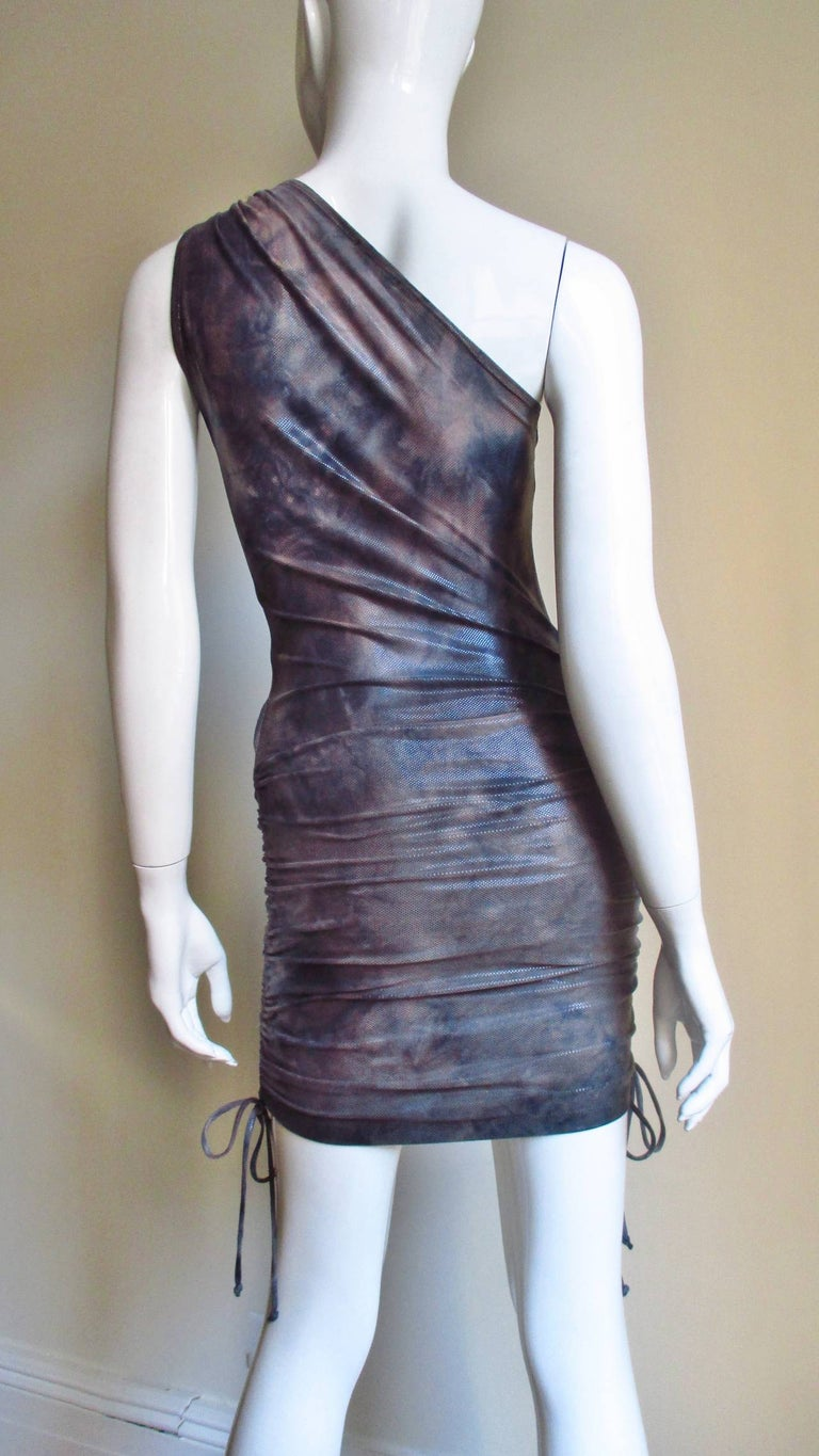1990s Gianni Versace Dress with Hardware For Sale 7