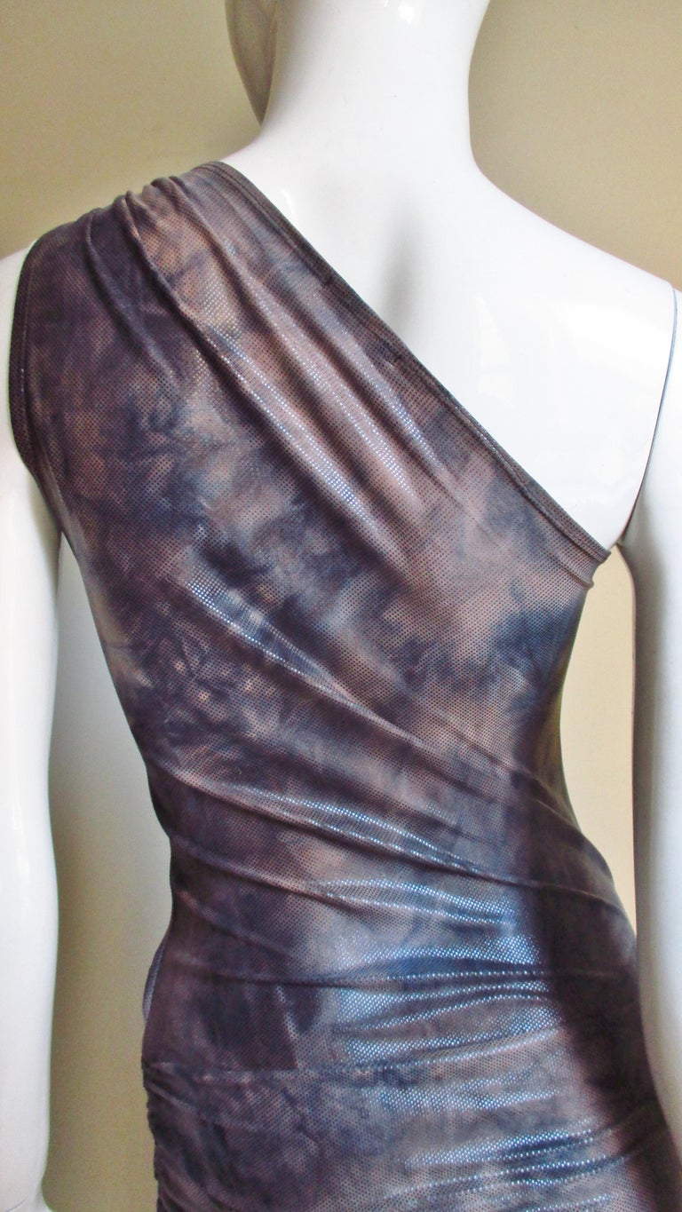 1990s Gianni Versace Dress with Hardware For Sale 8