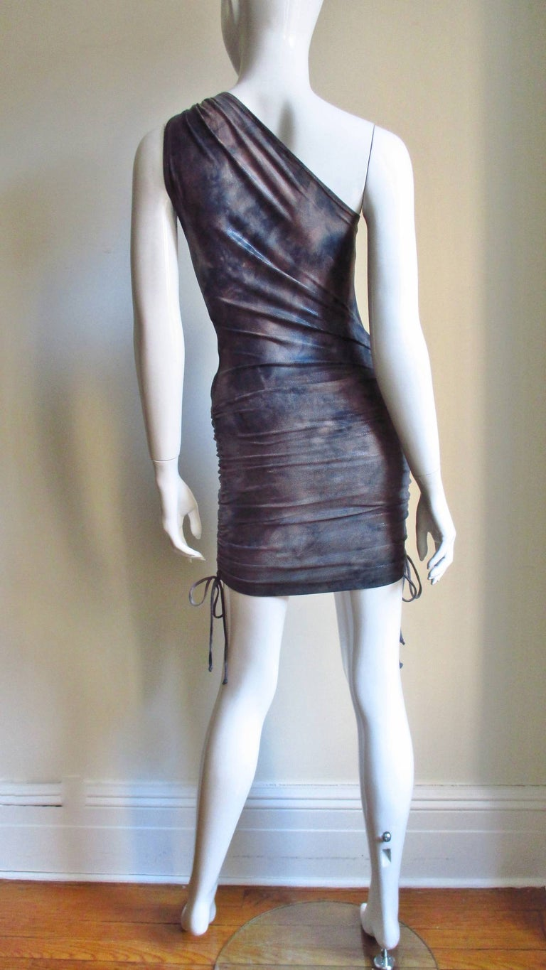 1990s Gianni Versace Dress with Hardware For Sale 10