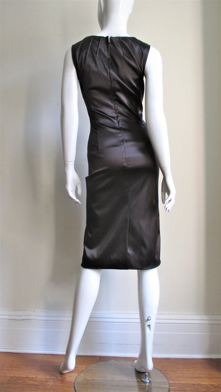 Dolce & Gabbana Dart Detail Bodycon Dress For Sale 2