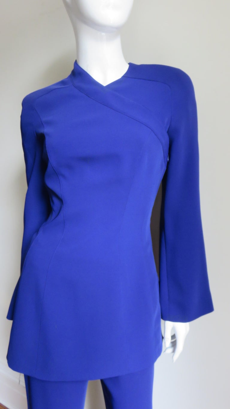 Thierry Mugler New Pants and Jacket with a Removable Sleeve For Sale 1