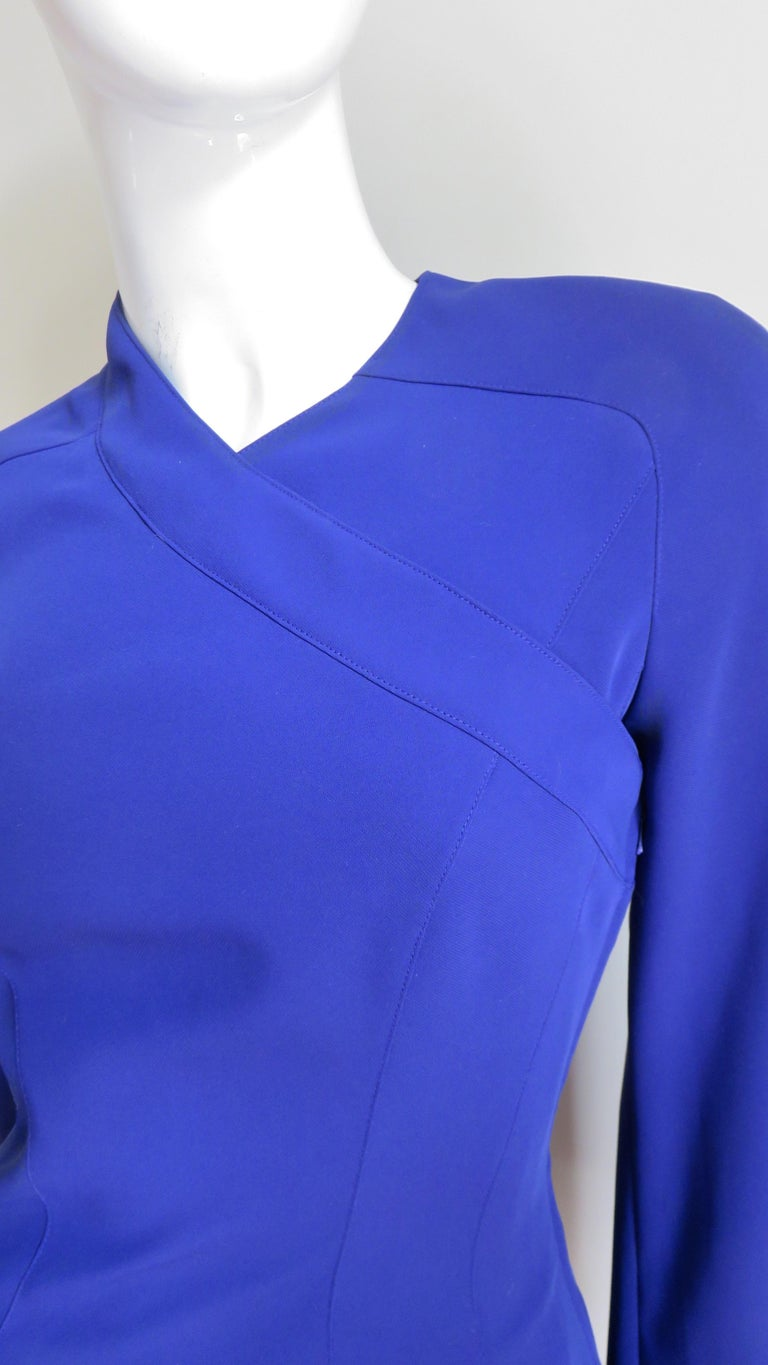 Thierry Mugler New Pants and Jacket with a Removable Sleeve For Sale 2