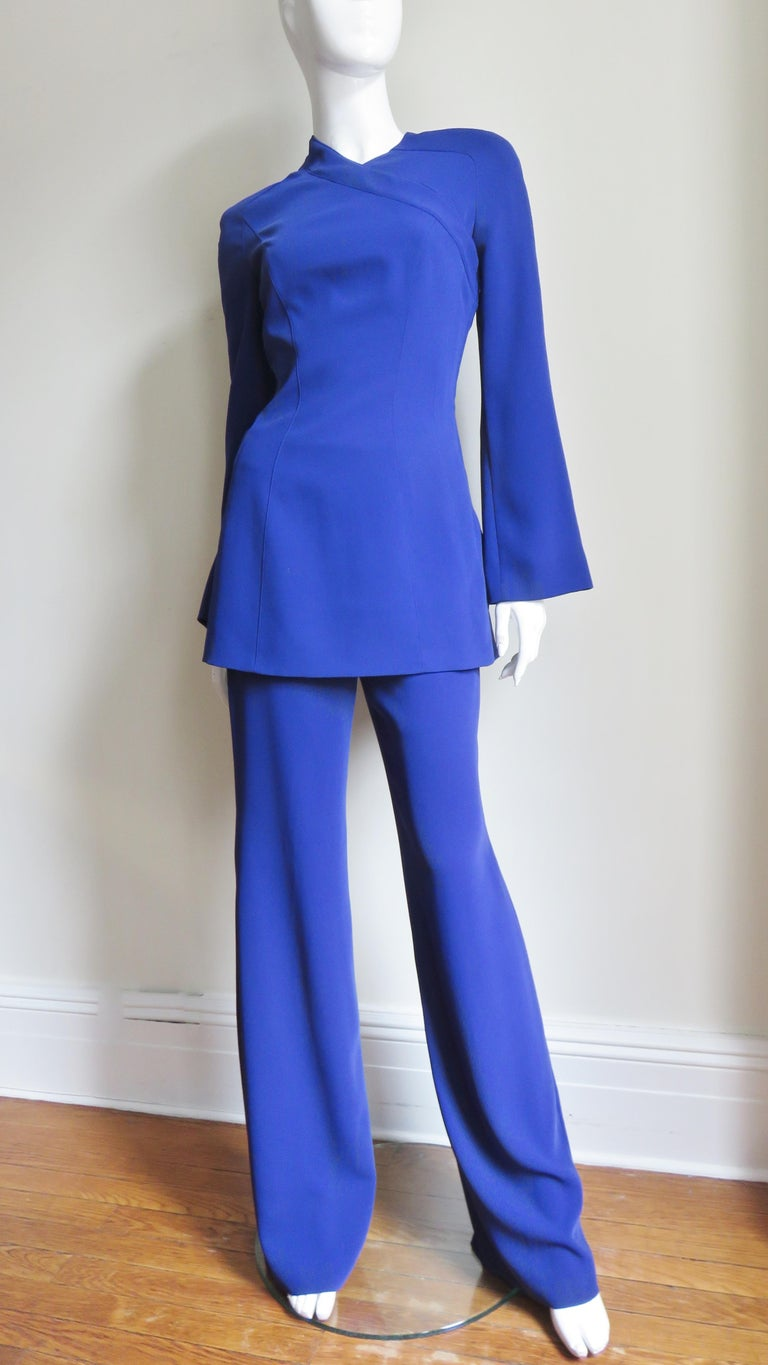 Thierry Mugler New Pants and Jacket with a Removable Sleeve For Sale 5