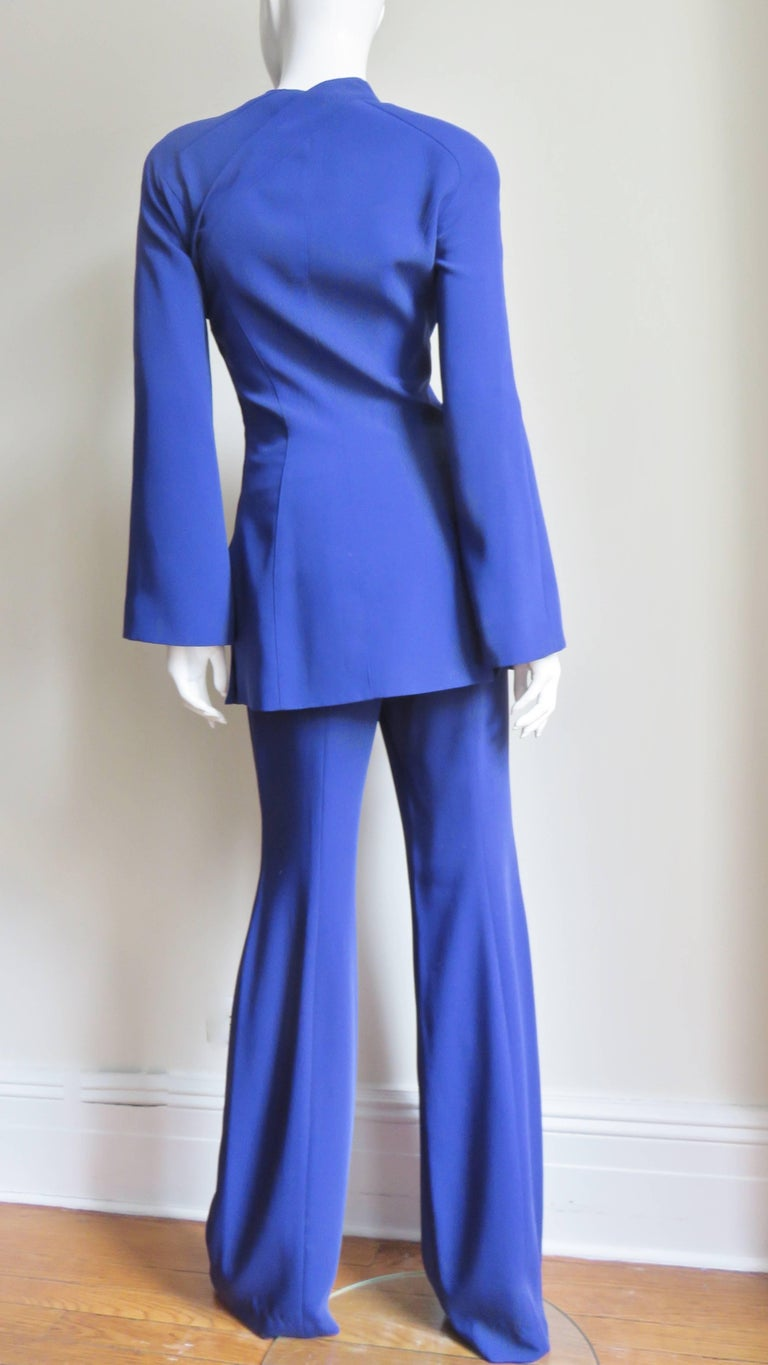 Thierry Mugler New Pants and Jacket with a Removable Sleeve For Sale 7