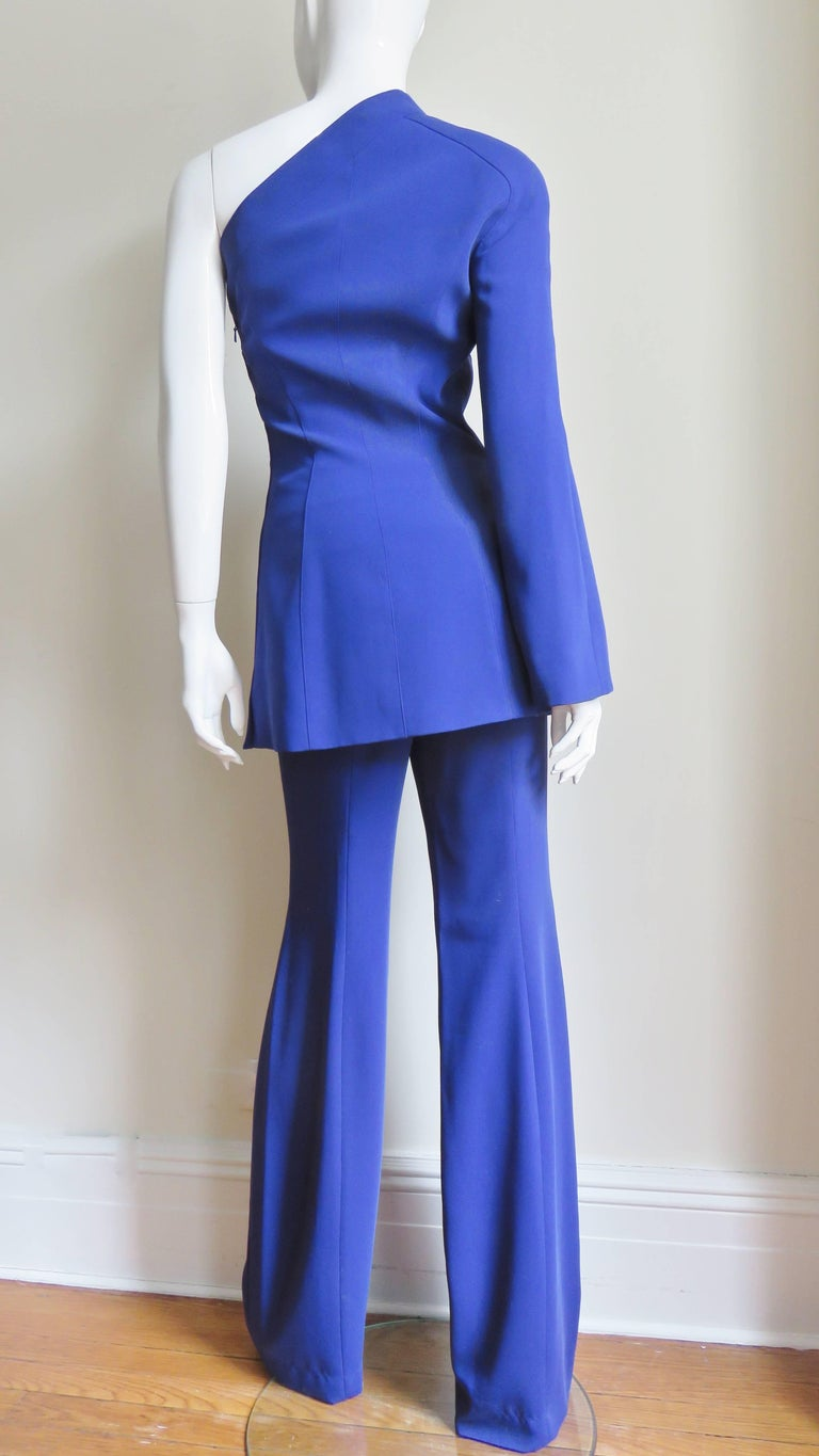 Thierry Mugler New Pants and Jacket with a Removable Sleeve For Sale 10