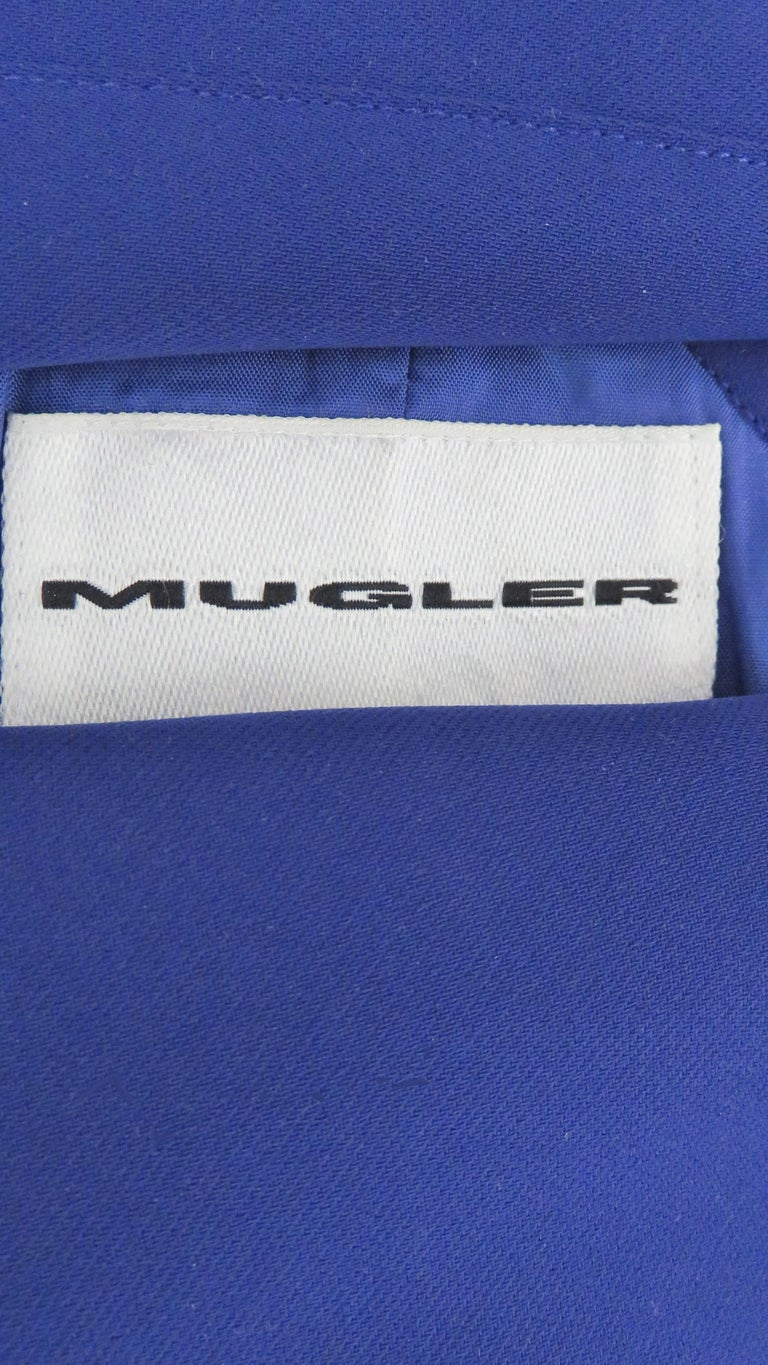 Thierry Mugler New Pants and Jacket with a Removable Sleeve For Sale 11