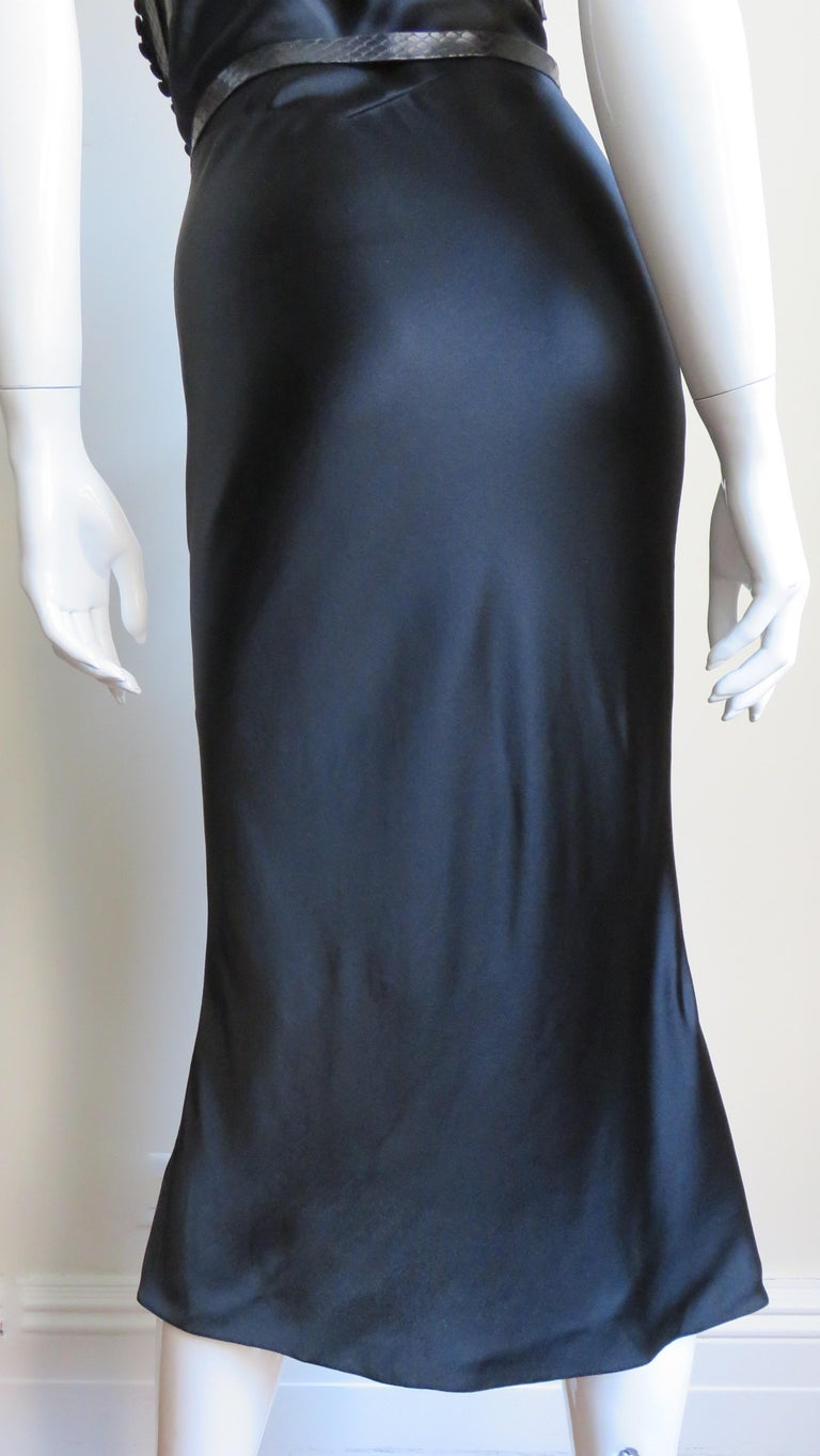 Christian Dior Silk Dress with Harness For Sale 11