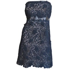 Valentino New Lace Strapless Dress