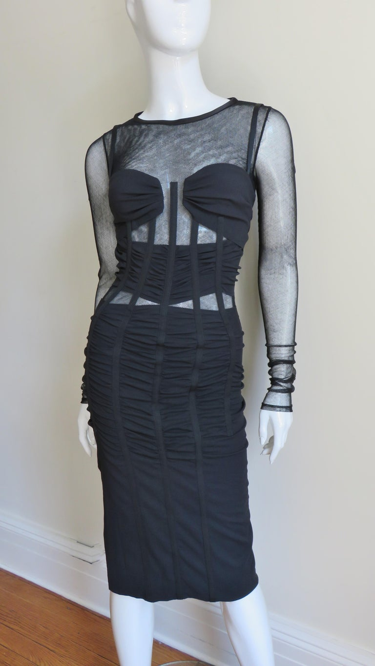 Dolce & Gabbana Corset Dress  For Sale 1