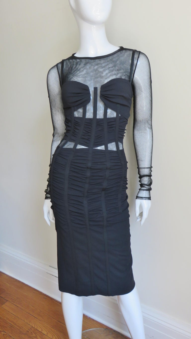 Dolce & Gabbana Corset Dress  For Sale 2