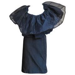 2001 Comme des Garcons Ruffle Collar Dress