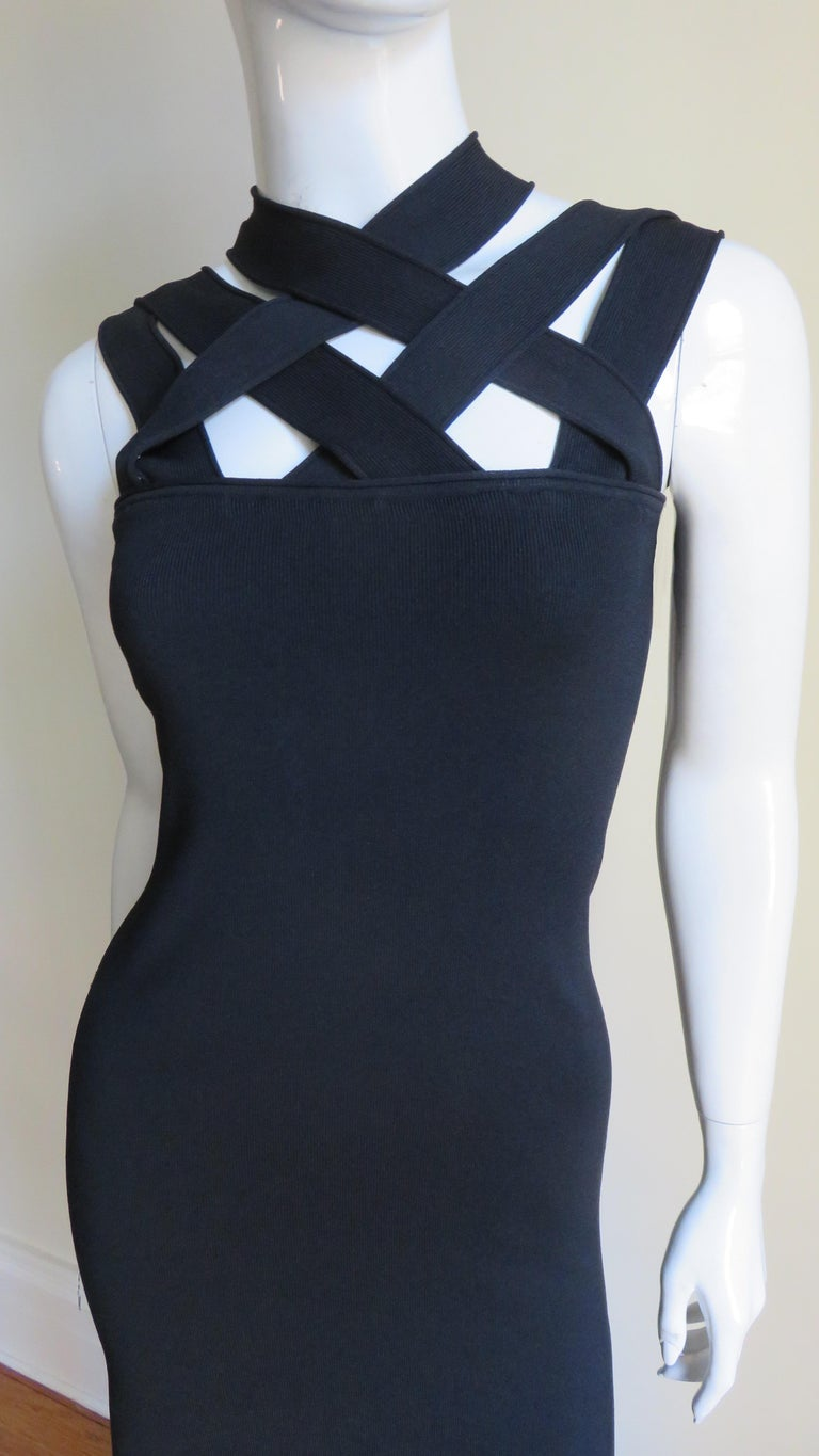 Givenchy Bodycon Bandage Dress In Good Condition For Sale In Watermill, NY