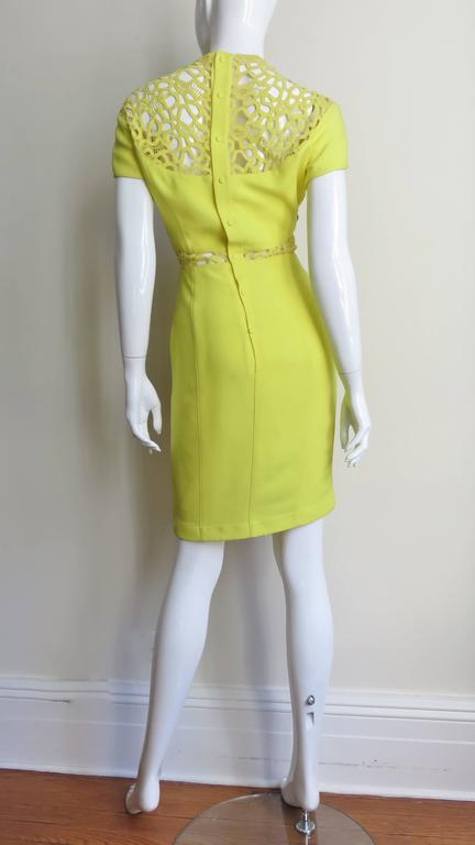 1990s Thierry Mugler Dress With Detailed Midriff & Decolletage 7
