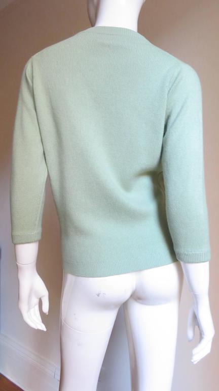 1960's Bonnie Cashin Cashmere Sweater 6