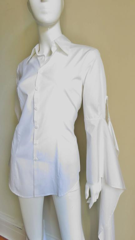 Gaultier Shirt With Draping Sleeves 3