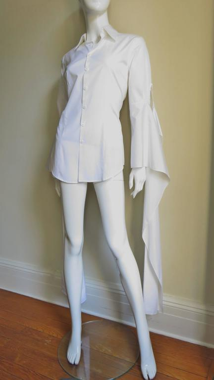Gaultier Shirt With Draping Sleeves 4