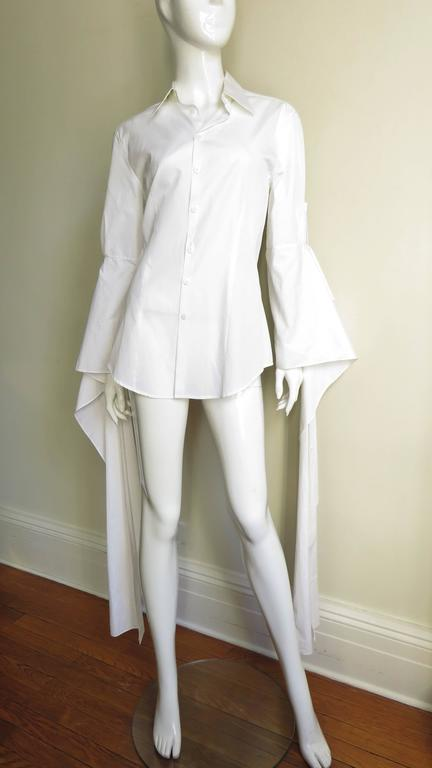 Gaultier Shirt With Draping Sleeves 6