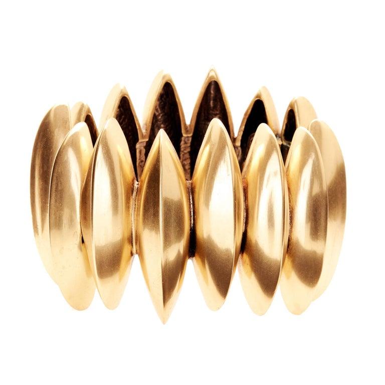 Oscar de la Renta Gold Cuff 1
