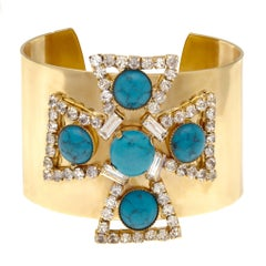Vintage Givenchy Maltese Cross Cuff