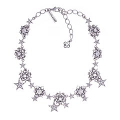 Oscar de la Renta Star Necklace