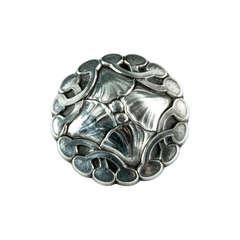 Rare Georg Jensen Denmark Sterling Silver Brooch Pin c1933-1944