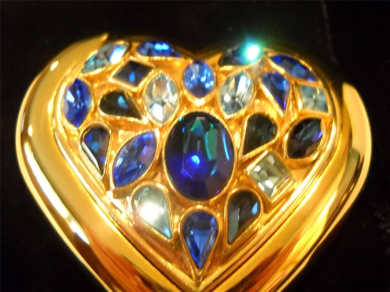 Yves Saint Laurent Paris Dazzling Crystal Jewels Heart