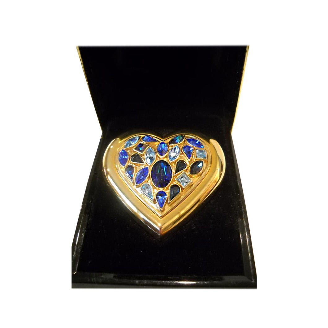 Yves Saint Laurent Paris Dazzling Crystal Jewels Heart