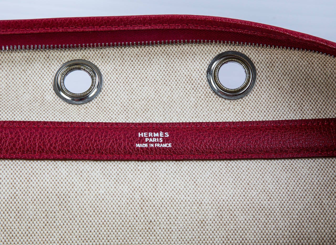 HERMES Paris Pet Dog Carrier Bag Case Sac De Transporte 4