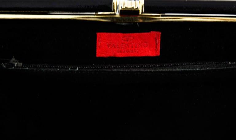 Extraordinary Vanentino Garavani Haute Couture Lizard Jewel Clutch Bag 5