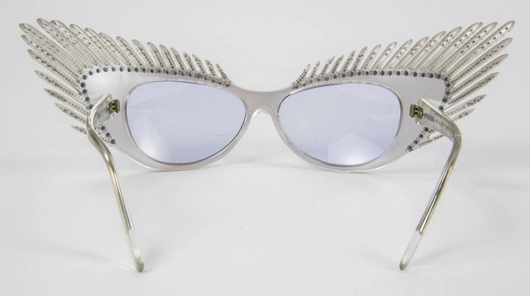 Gray Alain Mikli Paris MYSTERY Lunettes Eyeglasses C1980s For Sale