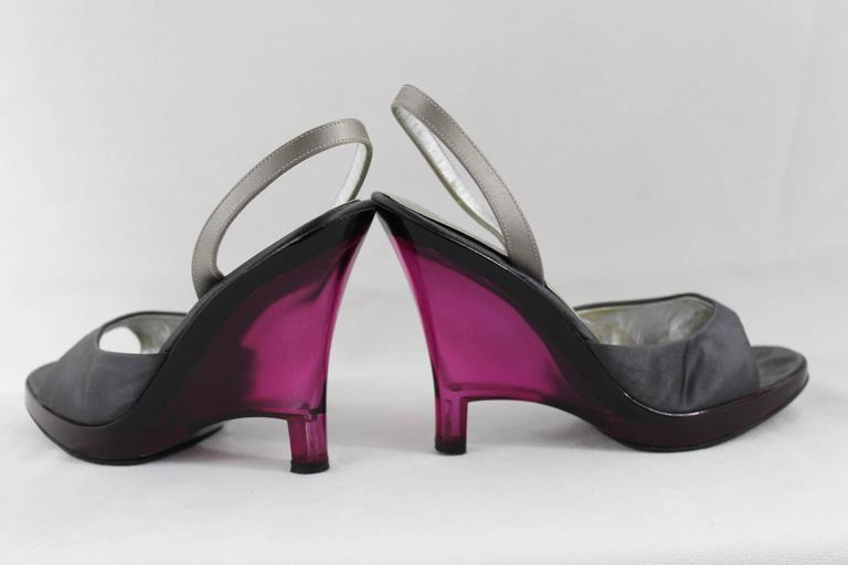 With Plexi Vintage Prada Shoes Heel eWE9IDHYb2