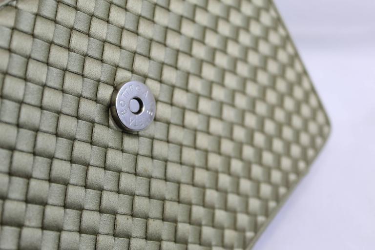 Bottega Veneta Intrecciato Silk Shoulder Bag 6