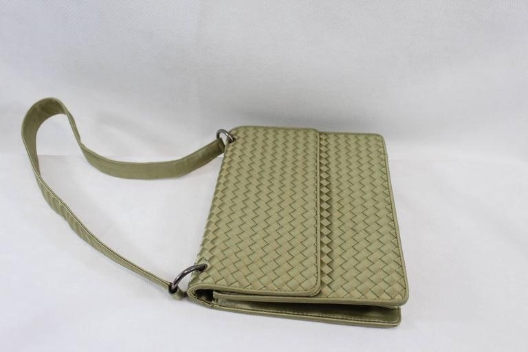 Bottega Veneta Intrecciato Silk Shoulder Bag 4