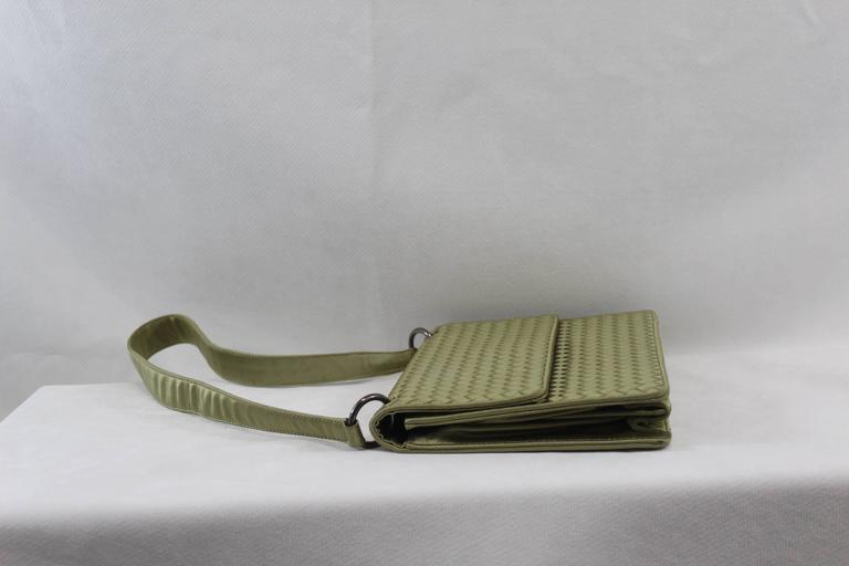 Bottega Veneta Intrecciato Silk Shoulder Bag 5
