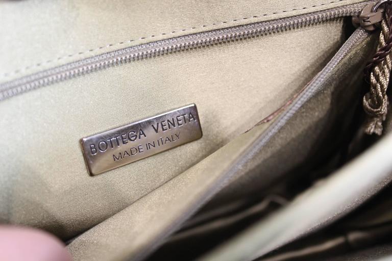 Bottega Veneta Intrecciato Silk Shoulder Bag 7