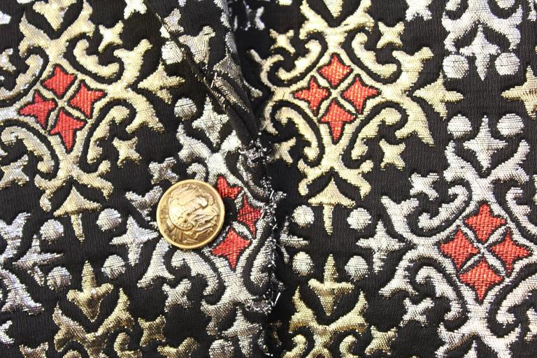 Nice Silver and Golden Balmain Jacket Size 40 (small) 5