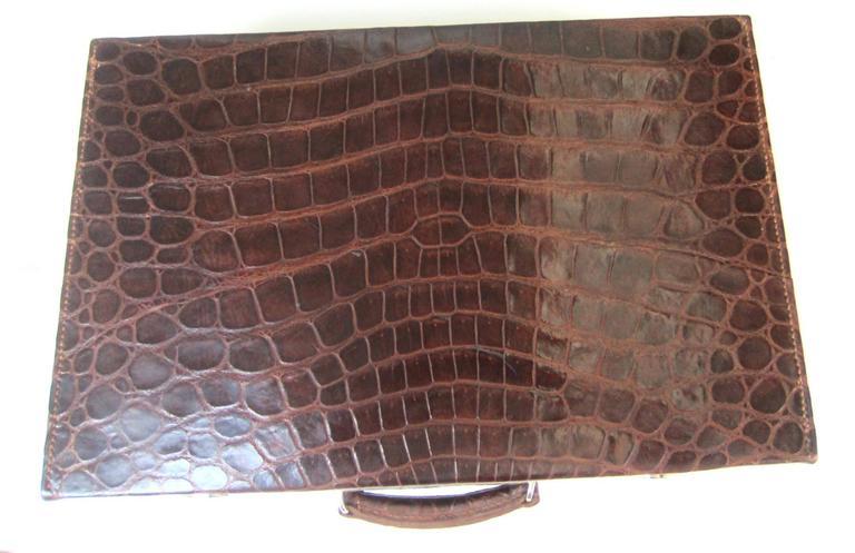 1920 1940 Collectors Moynat Crocodile Men S Vanity Case At