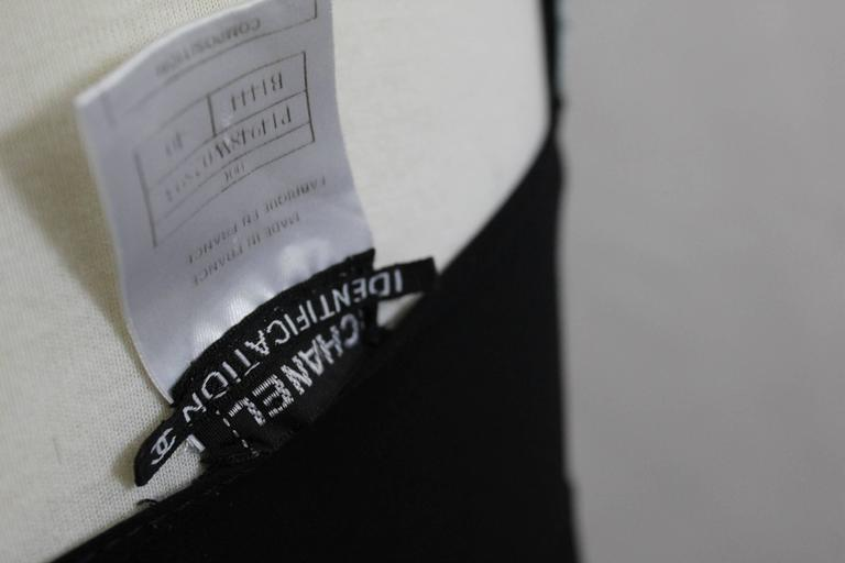 Chanel Summer Nylon Black Dress 4