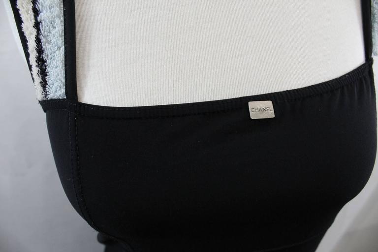 Chanel Summer Nylon Black Dress 3