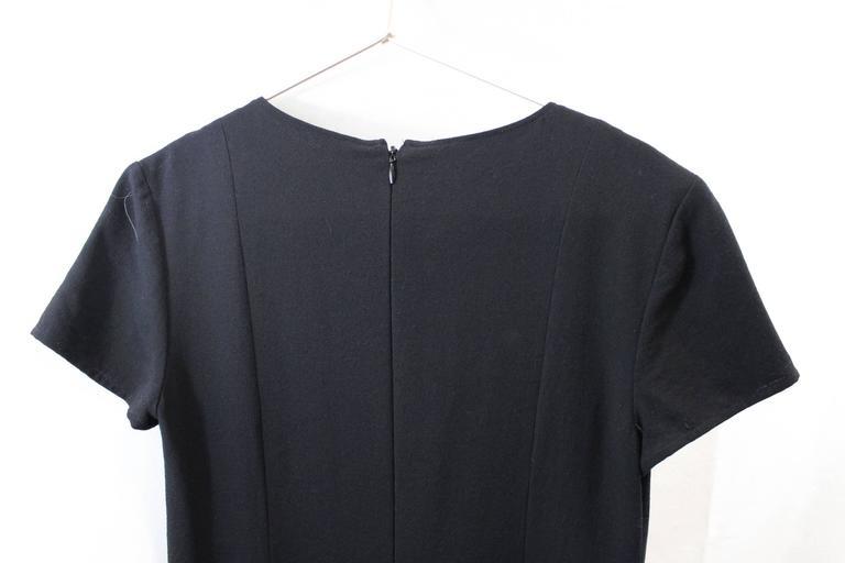 Chanel Little Black Dress. Size 38 For Sale 2
