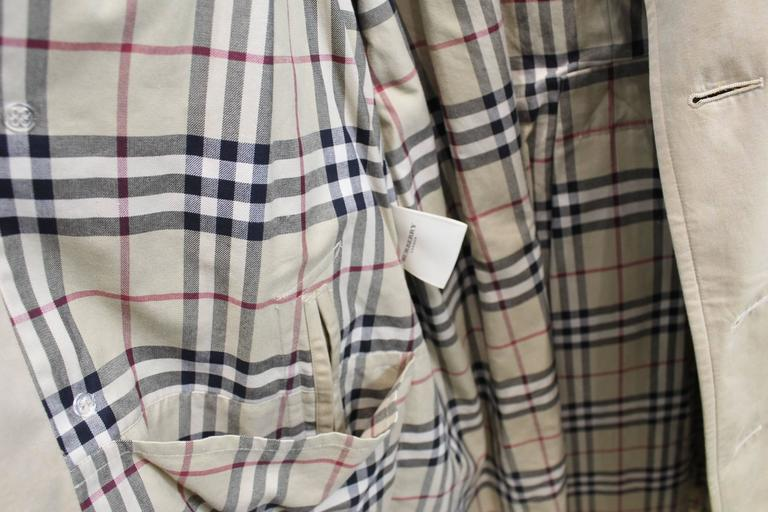 Really nice Burberry long trench coat (132 centimetrs lenght) Really good  condition Size europran 86048d6db20