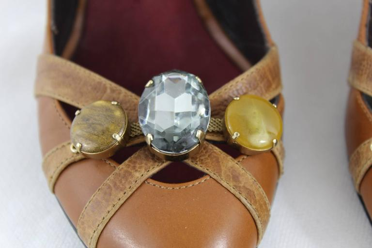 Nice pair of Giuseppe Zanotti High Heel Shoes with Stones 3
