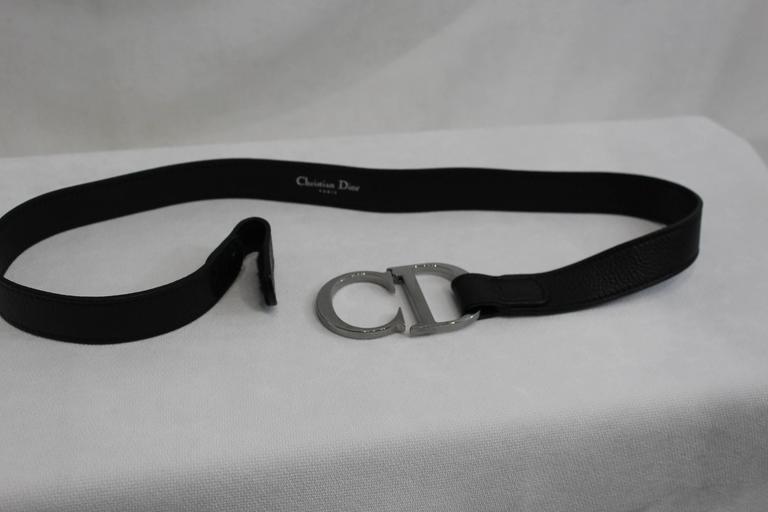 Christian Dior Vintage Stainlees steel belt 3