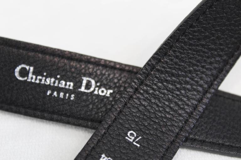 Christian Dior Vintage Stainlees steel belt 5