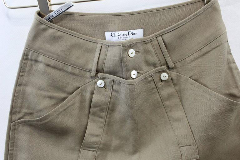 Dior Boutique Vintage Trousers. Size FR 36/ US 4 In Excellent Condition In Paris, FR